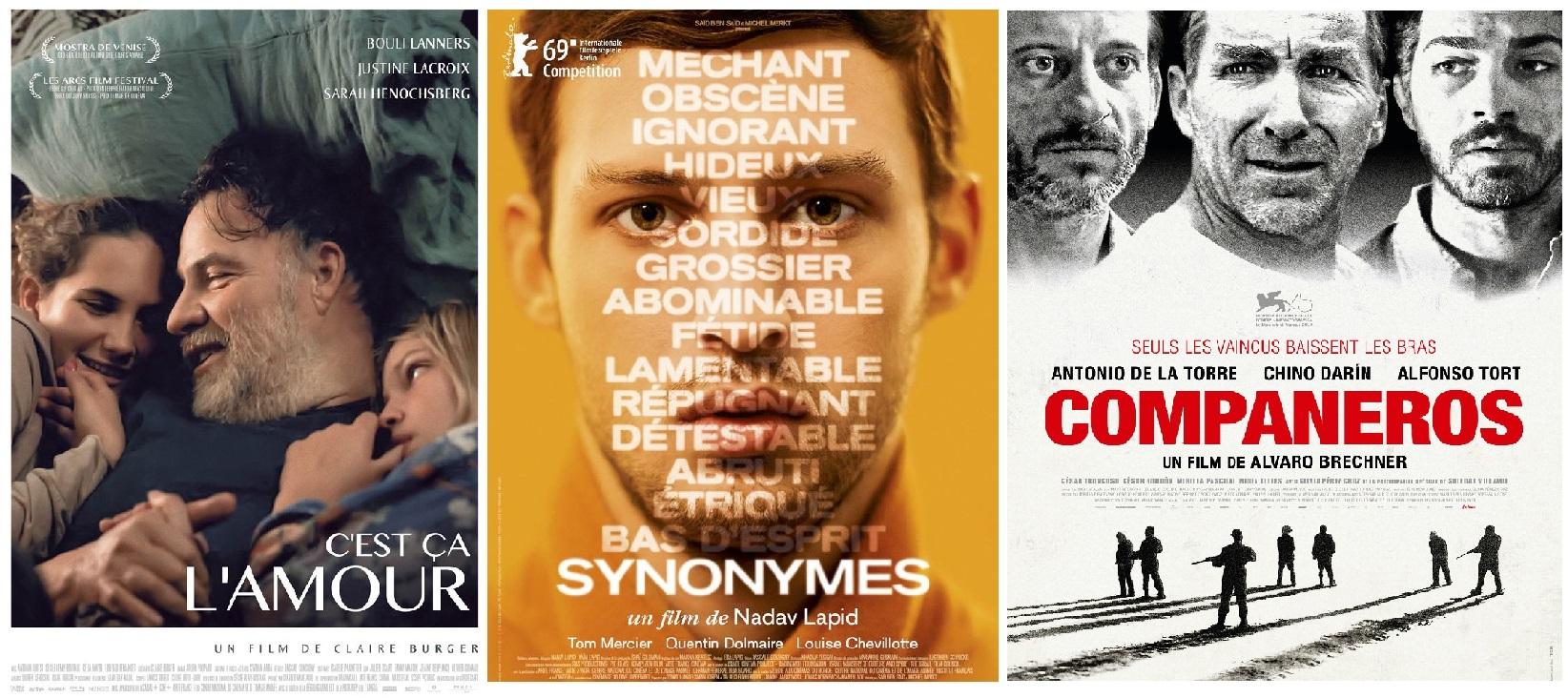 3 Films sortis le 27 mars