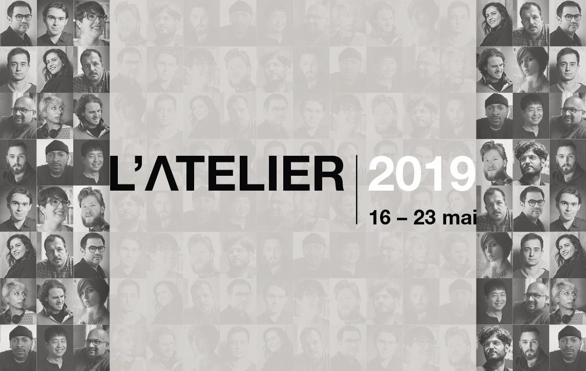 L'Atelier 2018