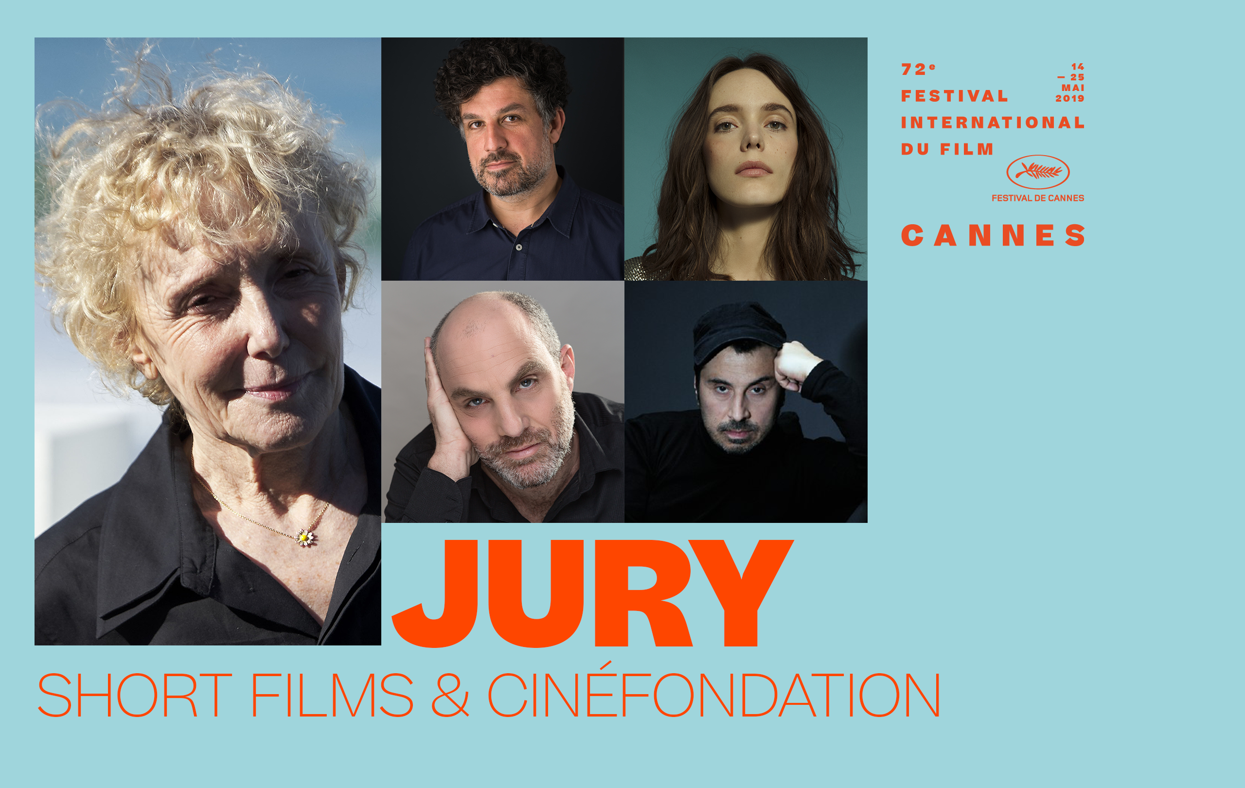 The Short Films and Cinéfondation Jury 2019