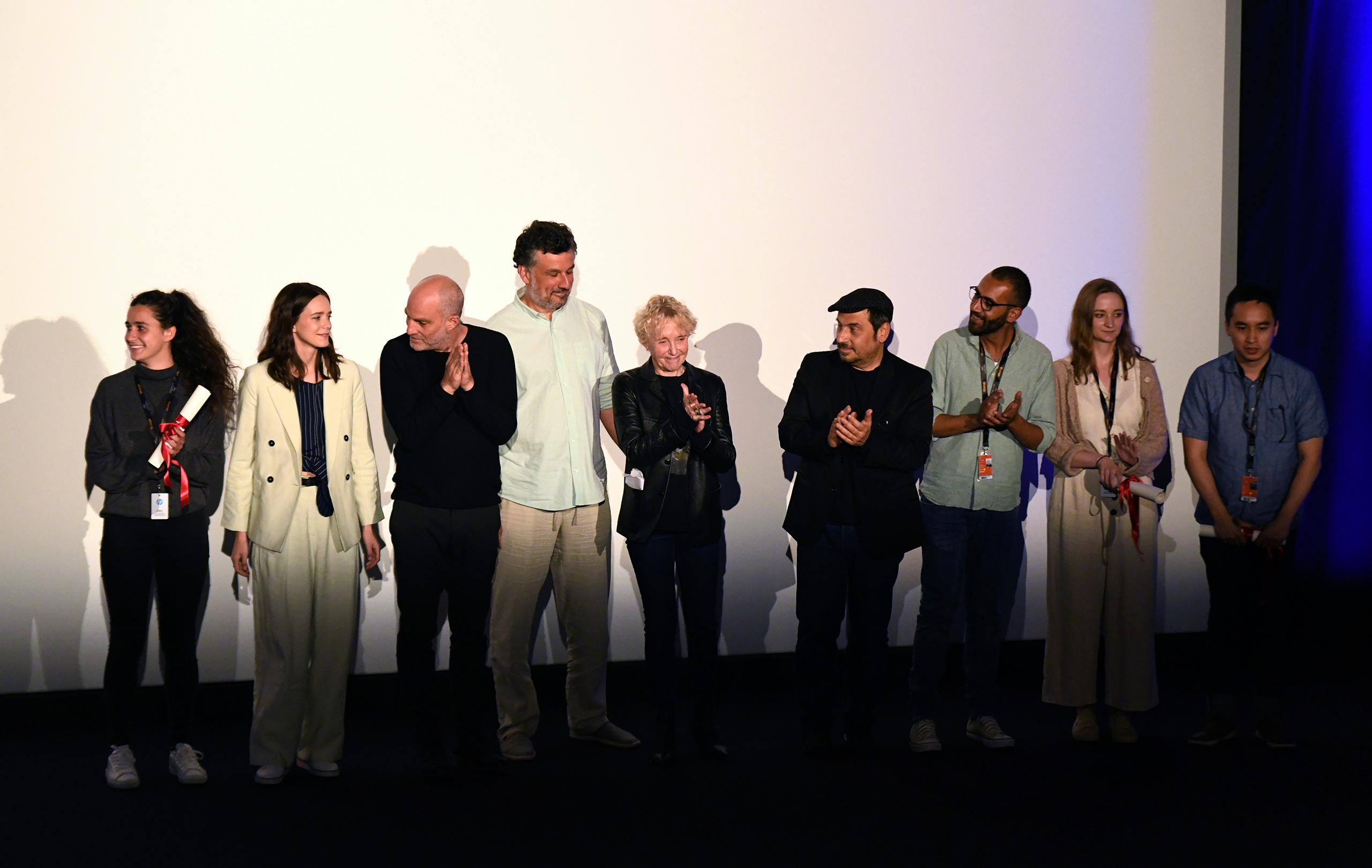 Jury et Lauréats de la Cinéfondation 2019 © Deborah Neris / FDC