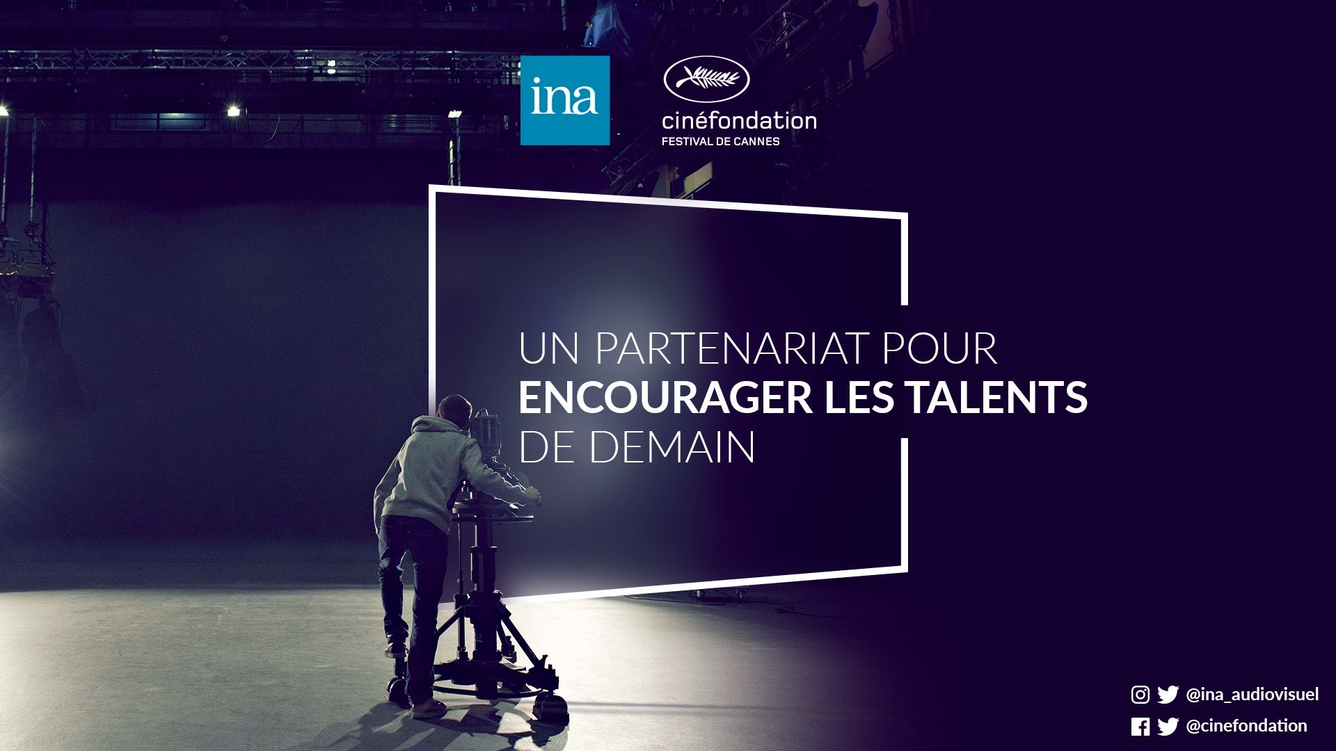 The Cinéfondation du Festival de Cannes and the INA team up.