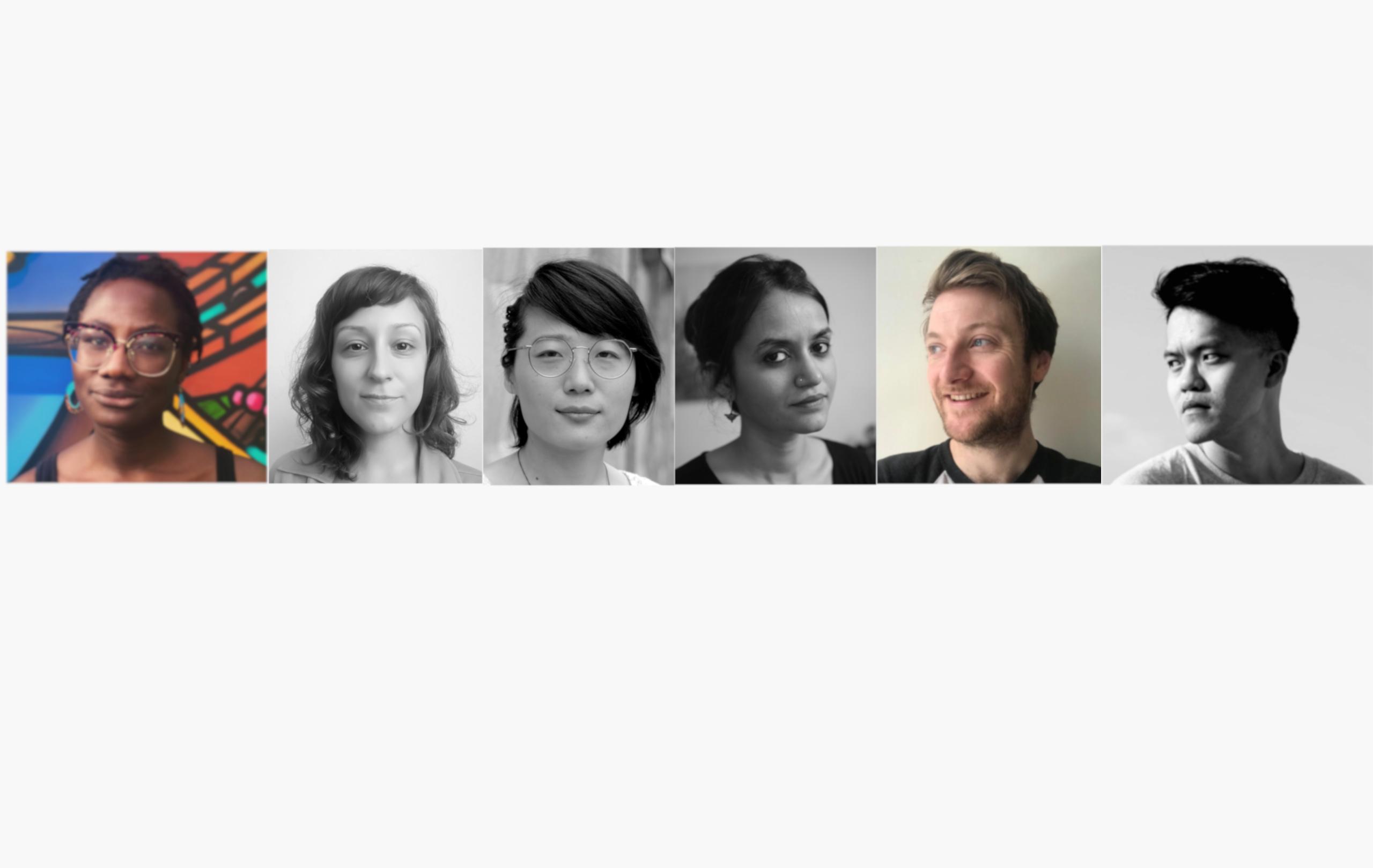 Raven Johnson, Urška Djukic, Zi Gao, Payal Kapadia, Rhys Jones, Chiang Wei Liang