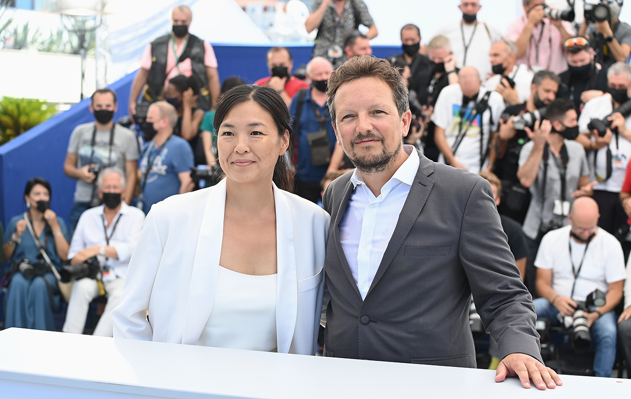 Photocall Press Conference The Red Carpet 74th edition Opening Trailer  Interview Rendez-vous Photographer's Prize Report Un Certain Regard Cinéma  de la Plage Cannes Classics Press Experience Best-of Cinema for the climate  Monday, July 12, 2021 ...